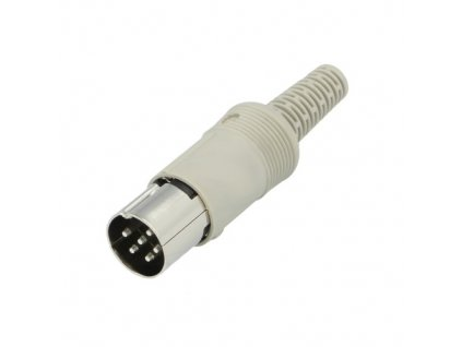 Konektor DIN 6pin 240° vidlice MAS60