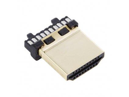 Konektor HDMI vidlice na kabel