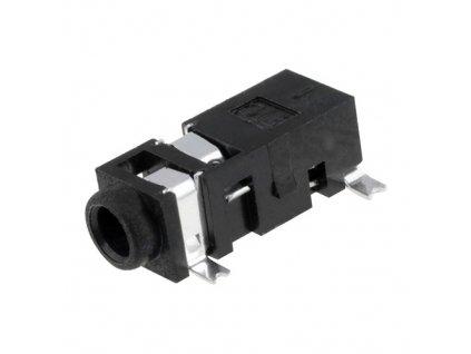 Konektor JACK 2,5mm zásuvka stereo SMT