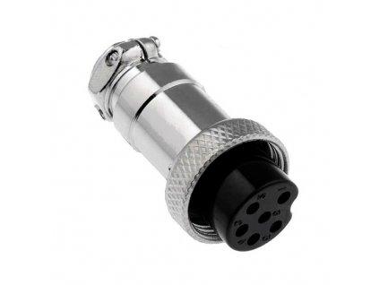 Konektor mikrofonní 6pin zásuvka na kabel
