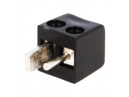 Konektor repro vidlice šroub černá