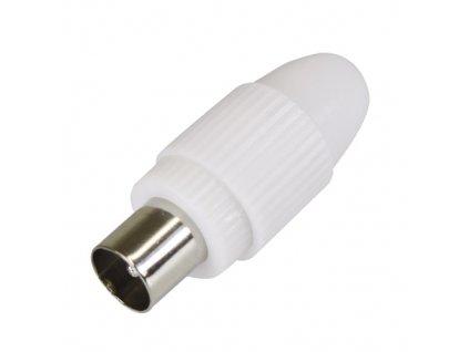 Konektor IEC 169-2 (TV) vidlice přímá na kabel