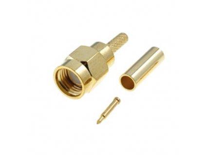 Konektor SMA vidlice přímá na kabel