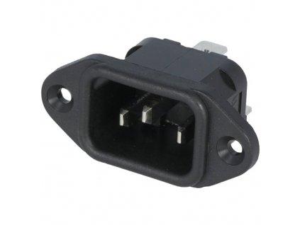 Konektor IEC60320 C14 (E) vidlice PX0580/63