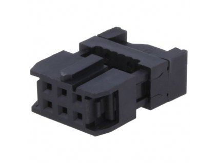 Konektor IDC 06pin zásuvka na kabel 1,27mm