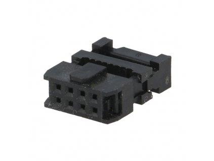 Konektor IDC 08pin zásuvka na kabel 1,27mm