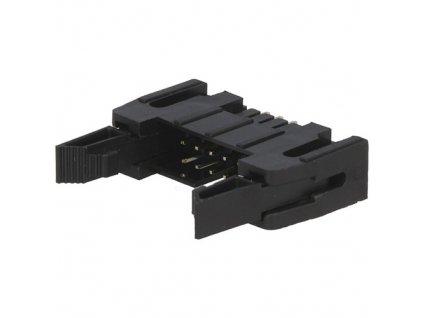 Konektor IDC 10pin vidlice do DPS s mechanismem