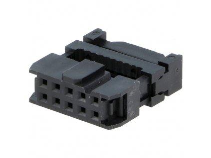 Konektor IDC 10pin zásuvka na kabel 1,27mm