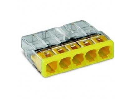 Svorka WAGO 2273-205 žlutá