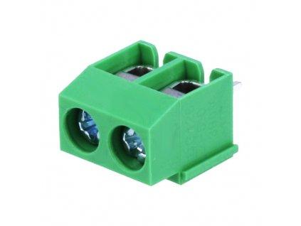Svorkovnice DG126-5.0-02P zelená