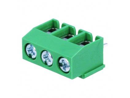 Svorkovnice DG126-5.0-03P zelená