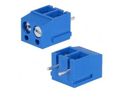 Svorkovnice DG300-5.0-02P modrá