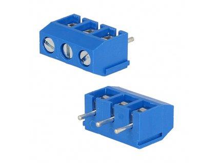 Svorkovnice DG301-5.0-03P modrá