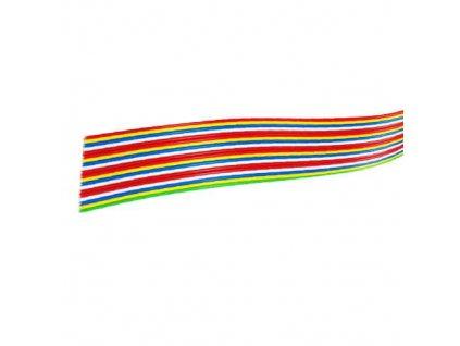 Kabel plochý PNLY (VFL) 18x0,5 barevný