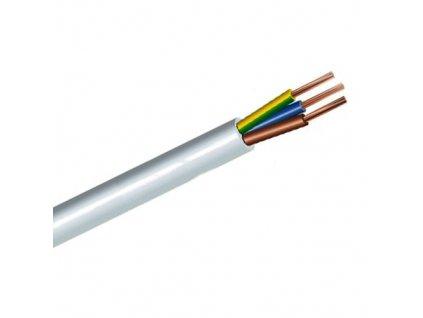 Kabel CYSY 3x4 (C) H05VV-F bílý