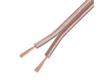 Kabel SCY 2x1,5 CCA průhledná