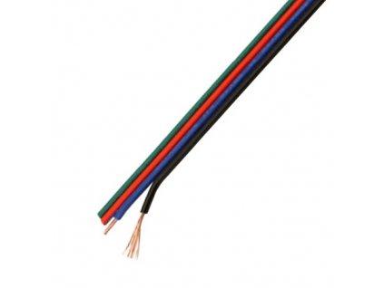 Kabel pro RGB LED pásek 4x0,3