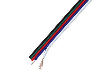 Kabel pro RGBW LED pásek 5x0,3