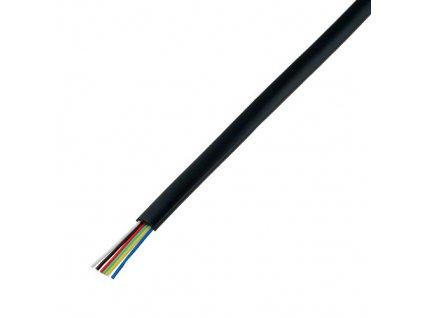 Telefonní kabel 6x28AWG černý