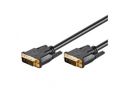 Kabel DVI-I dual-link (24+5) M/M 5m