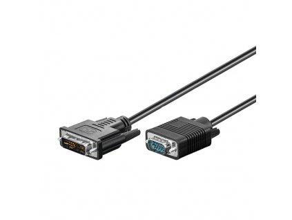 Kabel DVI - VGA (15-pin) 1m