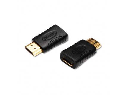 Redukce mini HDMI C - HDMI A F/M