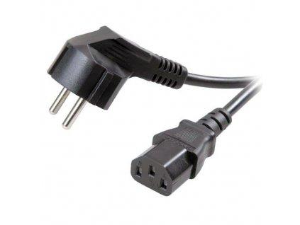 Kabel síťový 230V k počítači 1m