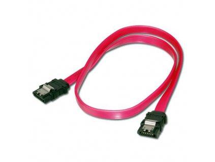 Datový kabel SATA 2.0 3GBs 0,5m rovný