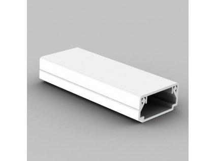 Lišta LHD 20x10mm HD bílá (2m)