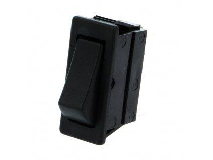 Kolébkový přepínač C1510ABM černý