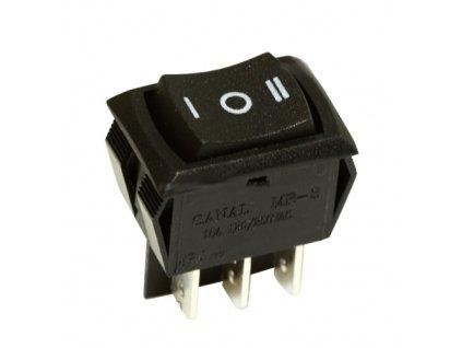 Kolébkový přepínač MR3-230-C6 černý