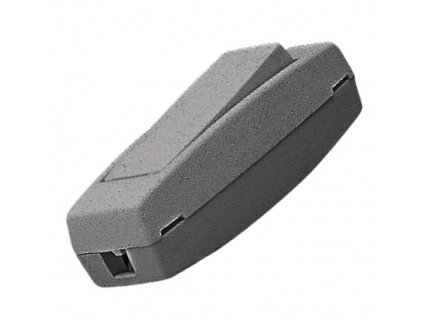 Kolébkový spínač 3251-01919 šňůrový šedý