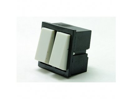 Kolébkový spínač 3454-05635 bílý