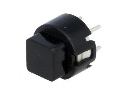Mikrospínač KS01-A černý