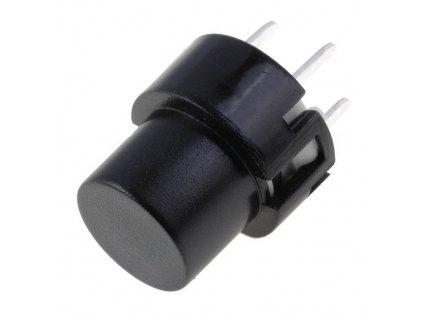 Mikrospínač KS01-B černý