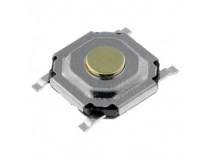 Mikrotlačítko 5,1x5,1mm 1,5mm PTS525 SMT
