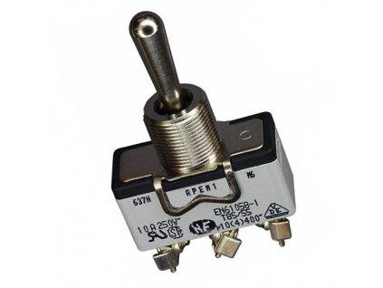 Přepínač páčkový 639H ON-OFF-ON
