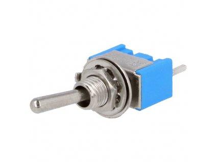Přepínač páčkový TSM102A2 (ON-ON)