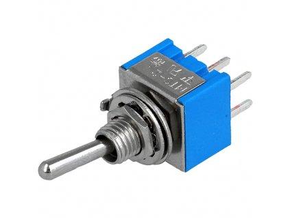 Přepínač páčkový TSM202A2 (ON-ON)