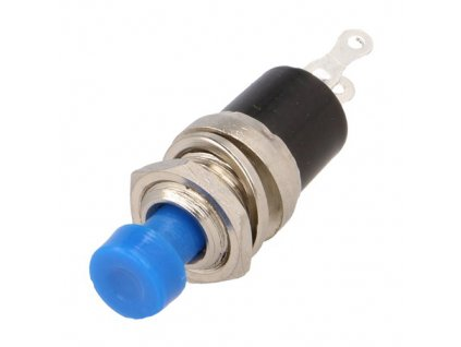 Tlačítko PS10B OFF-(ON) modrý