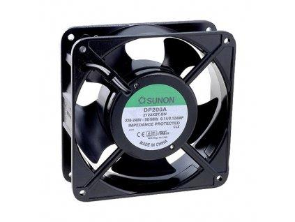 Ventilátor 230VAC 120x120x25mm DP203AT2122LBT