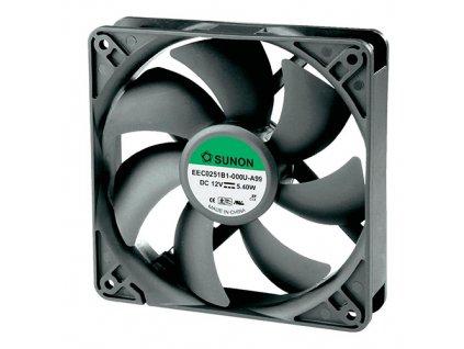 Ventilátor 12VDC 120x120x25mm EEC0251B3