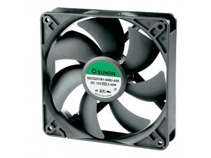 Ventilátor 12VDC 120x120x38mm MEC0381V1
