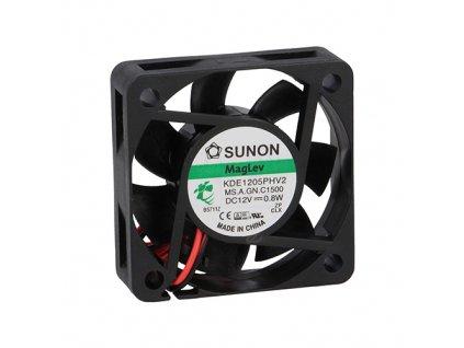 Ventilátor 12VDC 50x50x15mm KDE1205PHV2