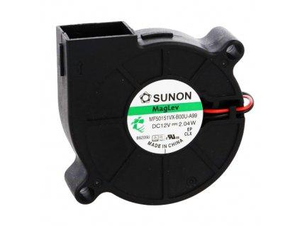Ventilátor 12VDC 52x52x15mm MF50151VX