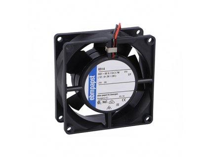 Ventilátor 24VDC 80x80x32mm 8314