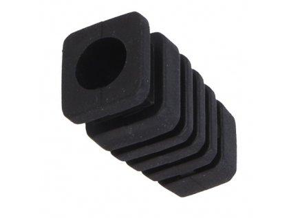 Vývodka pryžová 7mm černá