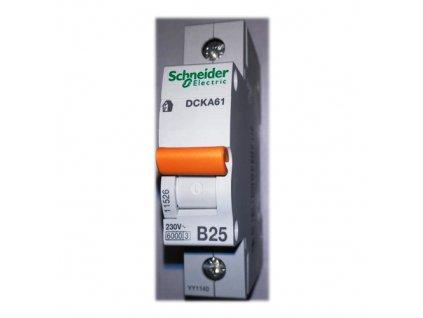 Jistič 1P 25A B 6kA, Schneider DCKA61