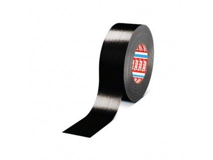 Izolační páska textilní 25mm/50m černá