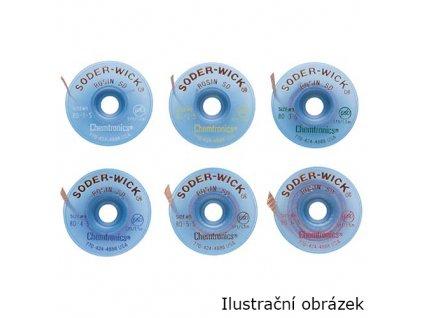 Odsávací knot Chem-Wick Rosin 1,27mm 1,5m